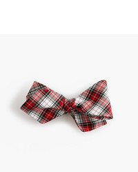 Cotton bow tie in tartan medium 956756
