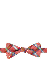jcpenney Stafford Richland Plaid Pre Tied Bow Tie