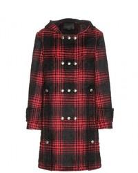 Alexander Wang Buffalo Cotton Blend Duffle Coat