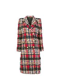 Alexandre Vauthier Oversized Check Coat