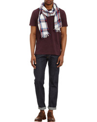 Rag bone plaid scarf medium 88577