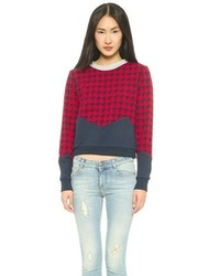 Endless rose houndstooth sweater medium 71551