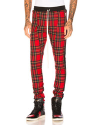 Fear Of God Tartan Wool Plaid Trousers In Redcheckered Plaid