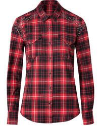 IRO Cotton Shirt In Rouge