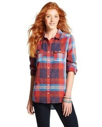 Mossimo Supply Co Flannel Plaid Shirt Mossimo Supply Co
