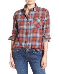 Current/Elliott Plaid Shirt