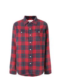 Plaid shirt medium 7785092