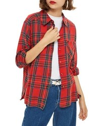 Plaid shirt medium 8752400