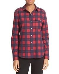 ATM Anthony Thomas Melillo Plaid Flannel Shirt