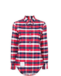 X colette plaid shirt medium 7802557