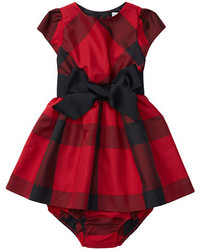 Ralph Lauren Baby Poly Taffeta Plaid Dress
