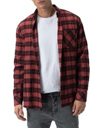 Zanerobe Dawn Plaid Flannel Shirt