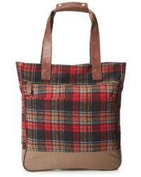 Red Plaid Holdall