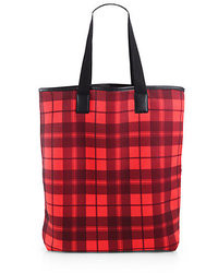 Marc by Marc Jacobs Plaid Shopping Tote