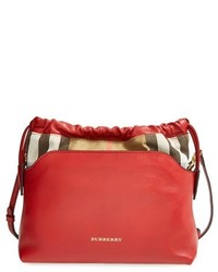 Little crush house check crossbody bag medium 133843