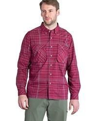 Exofficio Air Strip Macro Plaid Long Sleeve Shirt