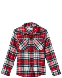 Boys 4 7x Sonoma Goods For Lifetm Plaid Button Down Flannel Shirt