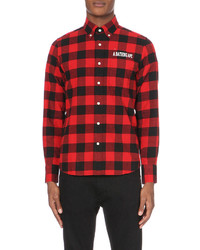 A Bathing Ape Checked Flannel Shirt