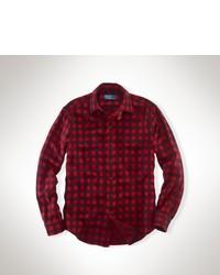 fadfceea9 ... Polo Ralph Lauren Custom Fit Buffalo Plaid Shirt ...