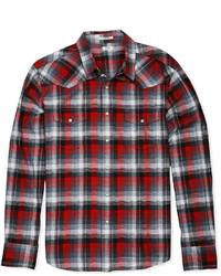 Lucky Brand Jeans Long Sleeve Plaid Shirt
