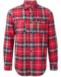 Plaid flannel shirt medium 199471
