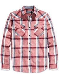 American Rag Plaid Long Sleeve Shirt Only At Macys