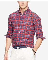 Denim & Supply Ralph Lauren Plaid Oxford Shirt