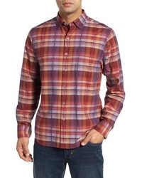 Tommy Bahama Puerto Prism Plaid Sport Shirt