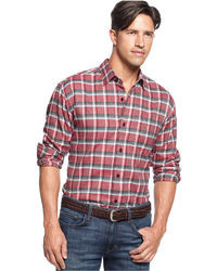 Tommy Bahama Shirt Long Sleeve Somerset Plaid Shirt