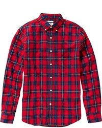 Old Navy Slim Fit Button Front Plaid Shirts