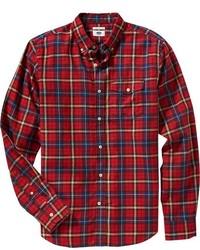 Old Navy Slim Fit Plaid Twill Shirts
