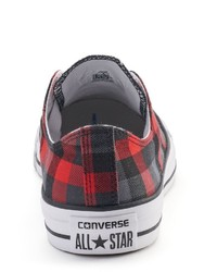 366c72195324 ... Converse Adult Chuck Taylor All Star Plaid Sneakers