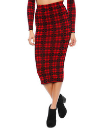 Ronny london plaid skirt medium 75380