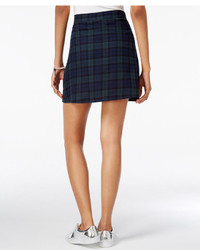 Freestyle Juniors Plaid Zip Front Mini Skirt Where To Buy How To