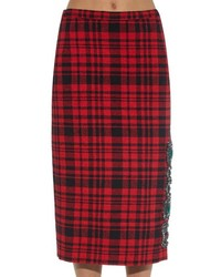 e5b1d9dcda No.21 Crystal Embellished Plaid Skirt, $1,618 | MATCHESFASHION.COM ...