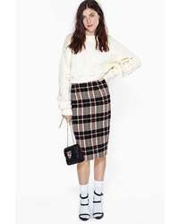 Nasty Gal Old School Midi Skirt
