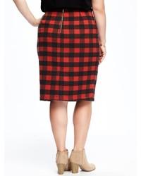 e2bc9a755d5 ... Old Navy Plaid Plus Size Pencil Skirt ...