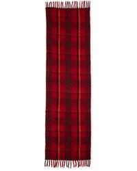 Marc by Marc Jacobs Blanket Plaid Knit Scarf