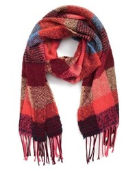 David & Young Checked Scarf