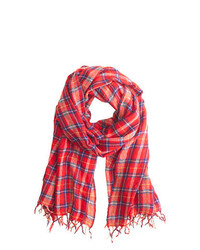 Classic plaid scarf medium 152003