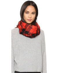 Kate Spade New York Woodland Plaid Oblong Scarf