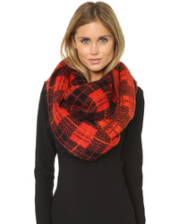 4469ba0c04176 ... Kate Spade New York Woodland Plaid Scarf