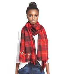 37a03336eeec5 ... Kate Spade New York Woodland Plaid Wool Scarf