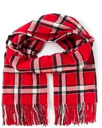 Plaid scarf medium 137301