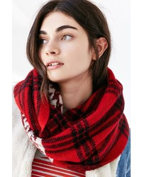 Woolrich Plaid Wear Eternity Scarf