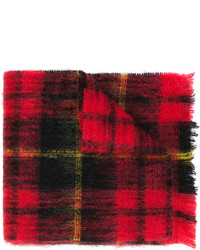Represent Plaid Knit Scarf