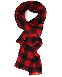 Forever 21 Woven Plaid Scarf