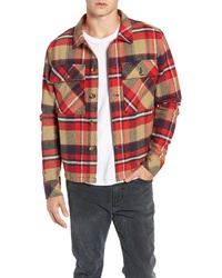 Tunellus Plaid Woven Overshirt