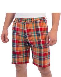 Pendleton Madras Plaid Shorts