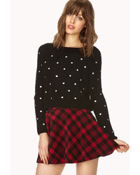 Forever 21 Favorite Plaid Skater Skirt